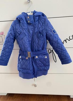 Lux оригинал bluemarine удлиненная куртка на 2 года рост 92  цена 700 грн