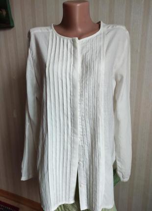 Туника блузка, вискоза, батал, большой размео