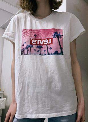 Оверсайз футболка levi's/ливайс