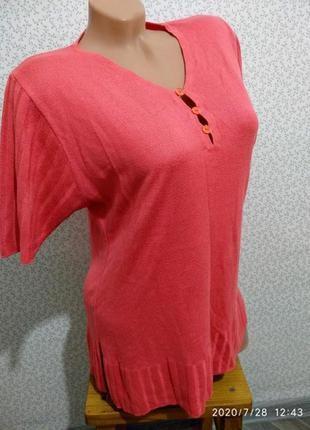 Трикотажная блуза. (5554)