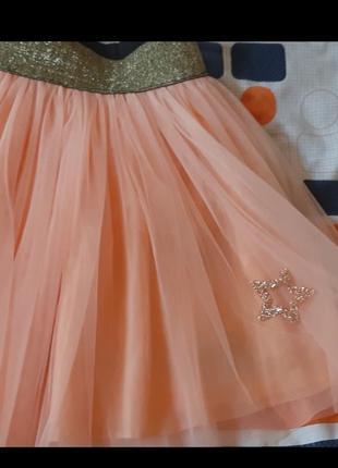 Фатиновая юбка для девочки,р122,128,1342 фото