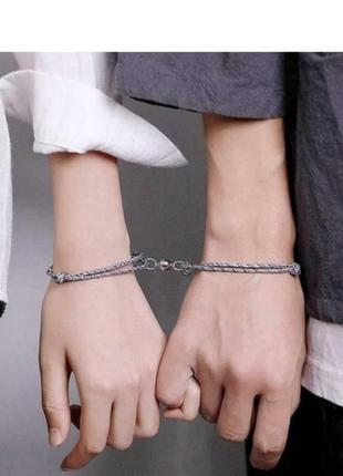 Парные браслеты для влюблённых