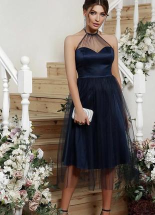 Фатиновое платье