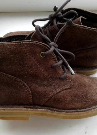 Демисезонные ботинки-туфли tommy hilfiger. 19см стелька. размер 29