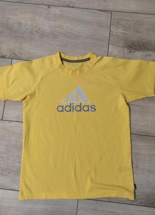 Оригинальная натуральная футболка adidas размер s