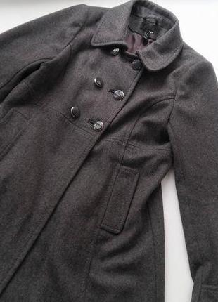Шерстяне пальто h&m