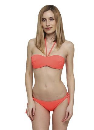 Женский раздельный купальник коралового цвета atlantic beach 32521