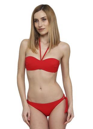 Женский раздельный купальник красного цвета atlantic beach 32521