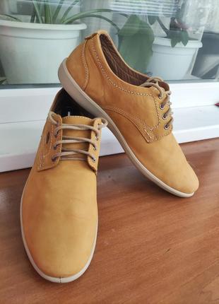 Кожаные туфли jomos оригинал германия