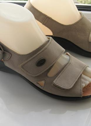 Босоножки,сандалии fly flot,р.37 стелька 24,5см кожа