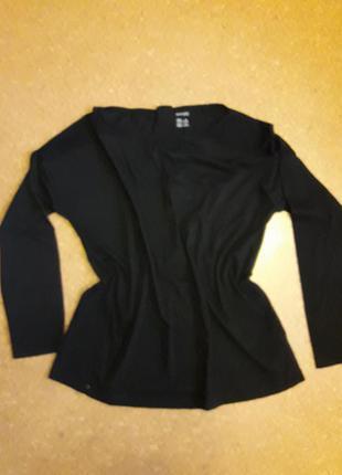 Свитшот-кофта-свитер с прозрачными вставками на плечах!