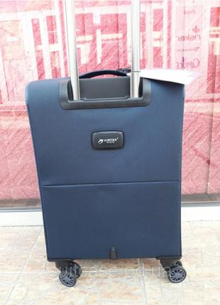 Ультра легкий тканевый чемодан под ручную кладь на 4-х кол. airtex 822 france4 фото