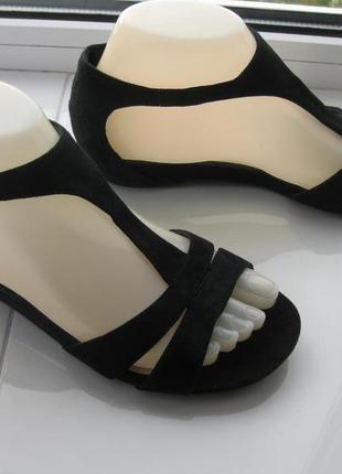Босоножки,сандалии footglove,р.36 стелька 23,5см кожа