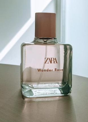 Парфумы zara wonder rose 100 ml
