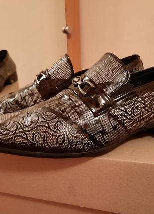 Мужские кожаные туфли немецкого бренда tezoro man сток