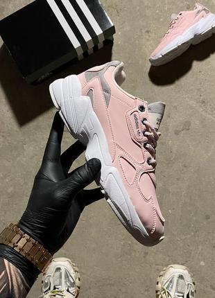 🔥 кросівки  adidas falcon pink.