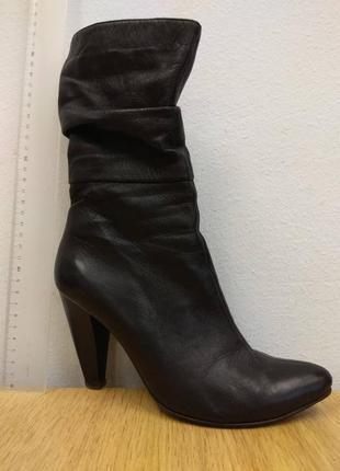 Ботинки кожа  lady unica