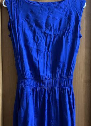Синее платье marmelad