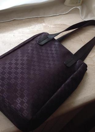Сумка шопер брендова sisley shopper bag made in italy оригінал