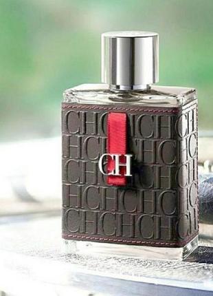 Carolina herrera ch men оригинал_eau de toilette 5 мл затест