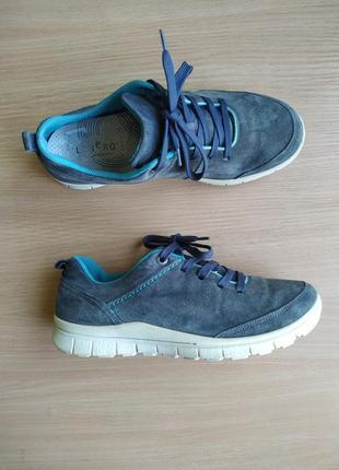 Замшевые кроссовки legero
