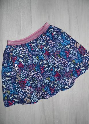 Яркая юбка monsoon 12-13л