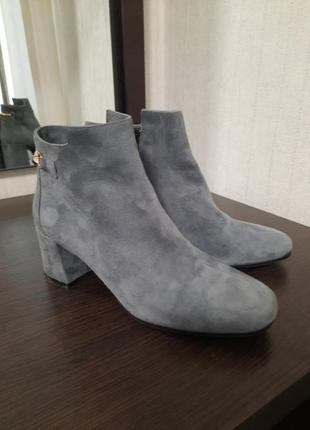 Замшеві черевики franco russo napoli