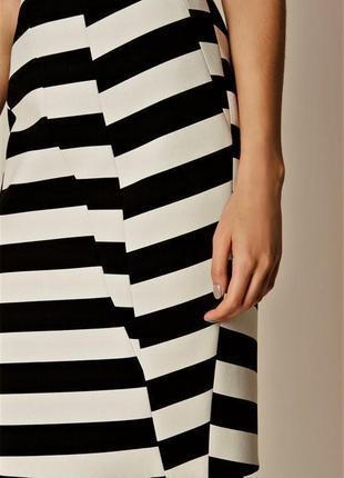 Платье в полоску люксового брэнда karen millen4 фото