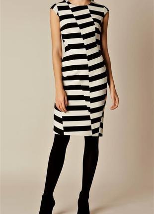 Платье в полоску люксового брэнда karen millen5 фото