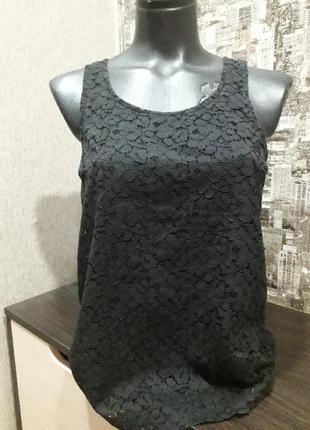 Ажурная блуза от европейского бренда