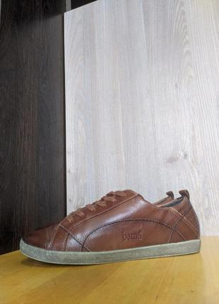 Кроссовки кожаные bama