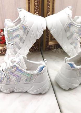Летние масивные кроссовки