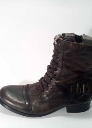 Ботинки monshoe натур кожа р 39-40 демисезон
