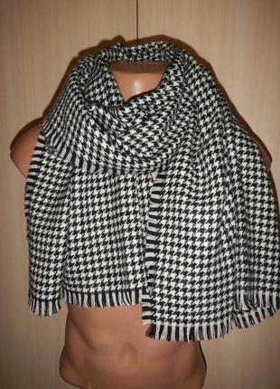 Стильный шарф гусиная лапка tcm