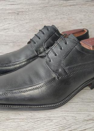 Roberto santi 40p туфли мужские кожаные италия