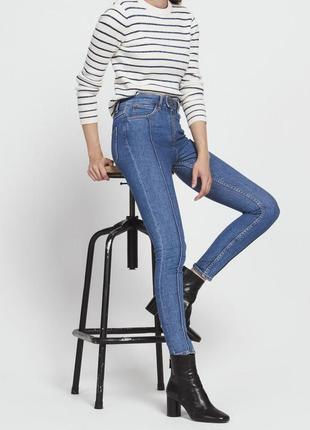 Sandro paris джинсы с высокой посадкой maje