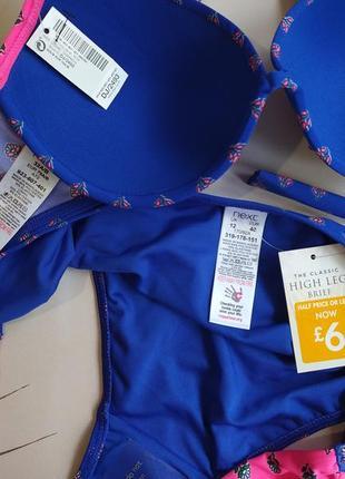 75b/34b- l интересный купальник next чашка на паралоне5 фото