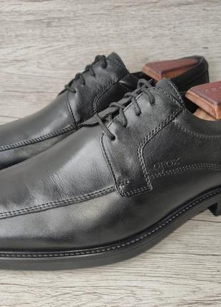Geox respira 40p туфли мужские кожаные италия