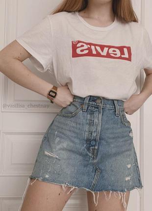 Футболка юбка спідниця levis