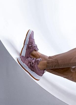 Женские кроссовки nike dunk low disrupt pink  36-37-38