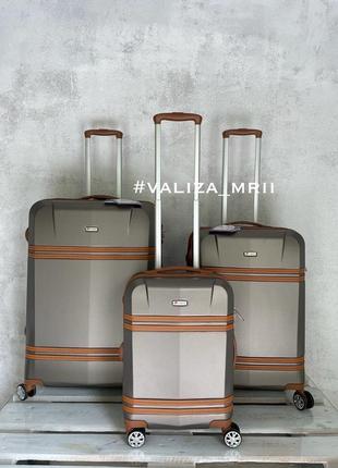 Роскошный чемодан, поликарбонат, франция, премиум качество