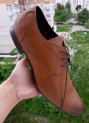 Firetrap классические оригинальные кожаные туфли 46 размер