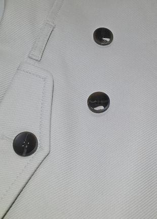 Белое пальто mango5