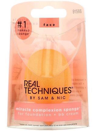 Real techniques miracle complexion sponge спонж для макияжа (оригинал!)