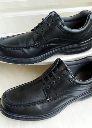 Кожаные туфли clarks, 46 размер, вьетнам
