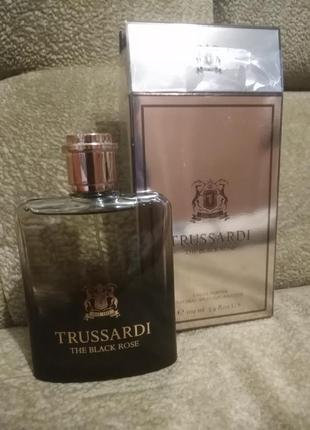 Trussardi the black rose, оригинал, 5 мл, 10 мл