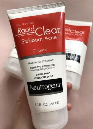 Засіб для очищення проти акне neutrogena rapid clear 147 мл
