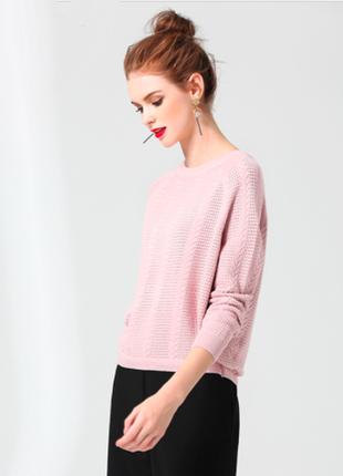 Джемпер нежно-розового цвета