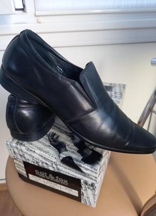 Мужские кожаные туфли, р41