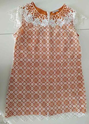 Платье - туника с камнями swarovski.